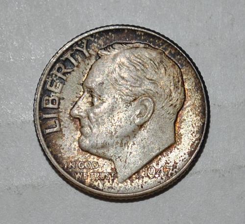 1947 P Roosevelt Dime G441
