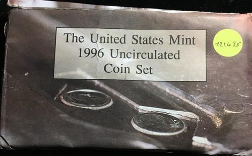 1996 Unc. Mint Set WITH 'W' Dime