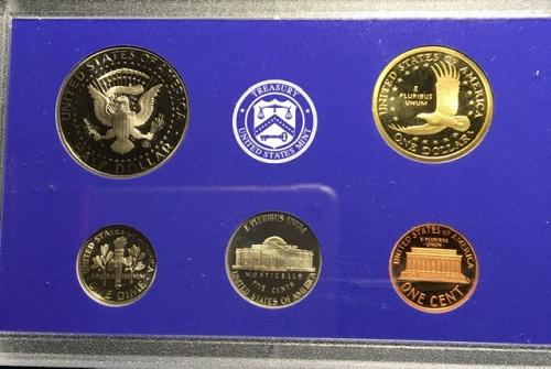 2007 Proof Set - 14 coins A lot for a little
