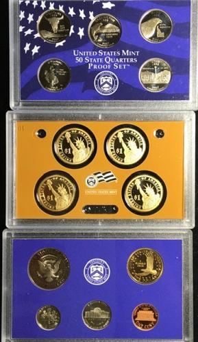 2007 Proof Set - 14 coins A lot for a little
