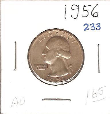 1956 Washington Quarter