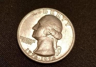 1976 Bicentennial Set: Quarter, Half Dollar, Dollar