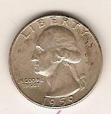 1959-D Washington Quarter