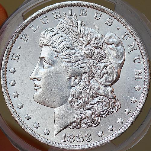 1883 O Morgan Silver Dollar - Gem BU / MS / UNC