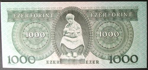 Hungary P173b 1000 Forint UNC60