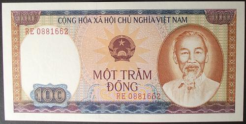 Viet-nam P88b 100 Dong AU++