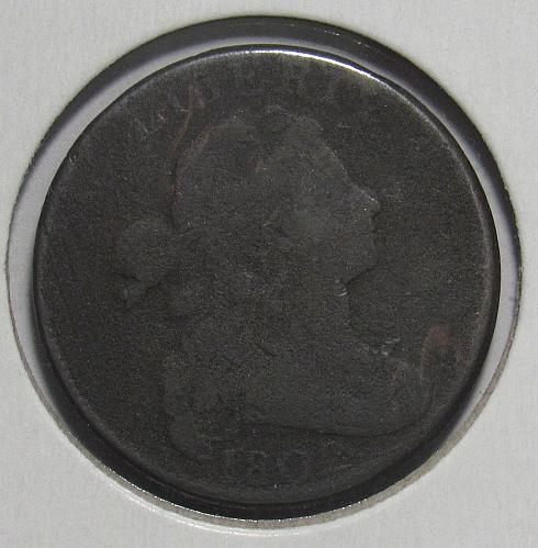 1802 P Draped Bust Large Cent: Normal Reverse