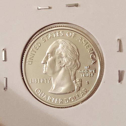 2007 S Washington 50 States and Territories Quarter