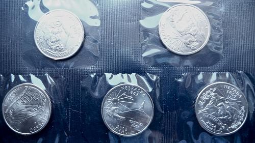 2006   (5) State Quarters Denver Mint Set