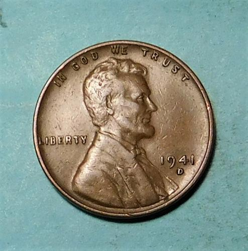 1941 D Lincoln Wheat Cent