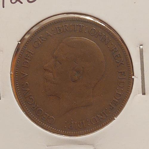 1928 Great Britain One Penny