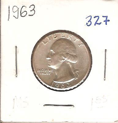 1963 Washington Quarter