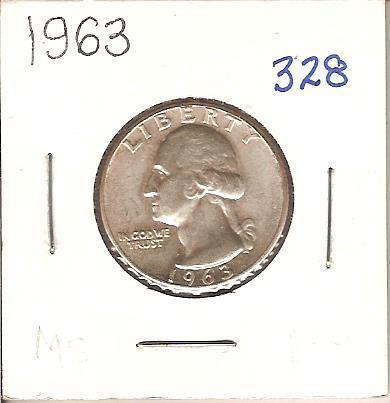 1963 Washington Quarter