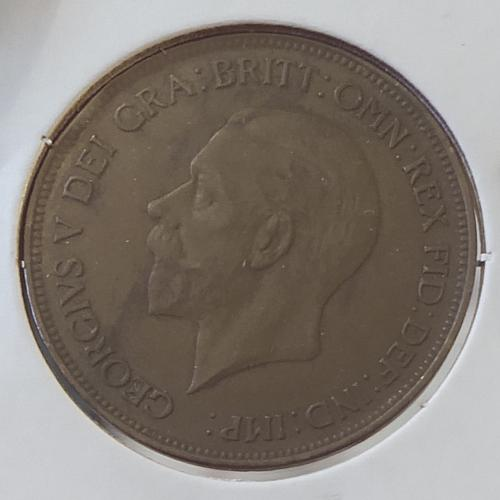 1931 Great Britain One Penny