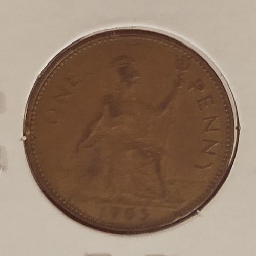 1965 Great Britain One Penny