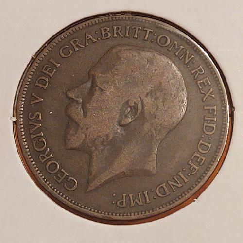 1919 Great Britain One Penny