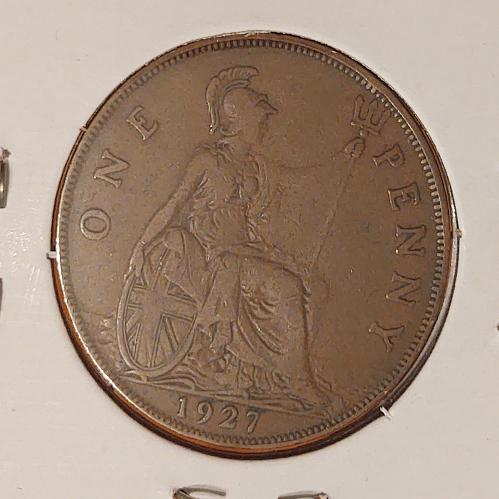 1927 Great Britain One Penny