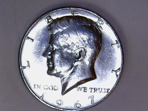 1967 P 40% Silver Kennedy Half Dollars  SEE PICTURES