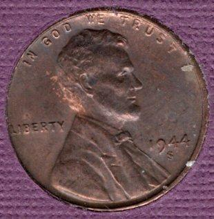 1944s Lincoln Wheat Penny #5