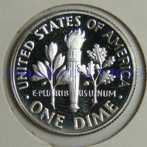 1963 Roosevelt Silver Dime Cameo Proof