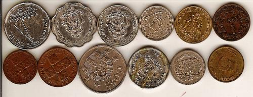 Mixed Foreign Coin Set