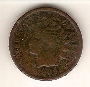 1909 Indian Head Penny