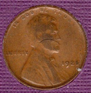 1925 p Lincoln Wheat Penny #2