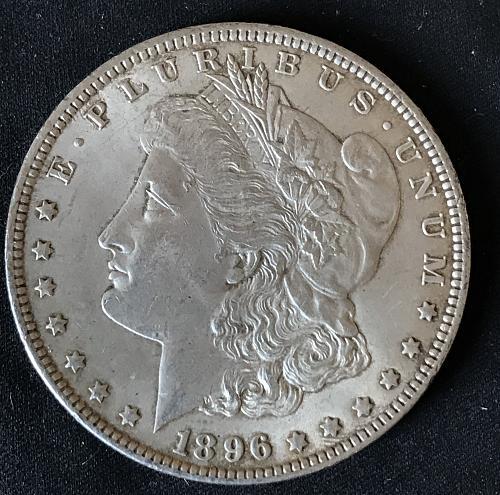 1896 Morgan Dollar (1013-3)