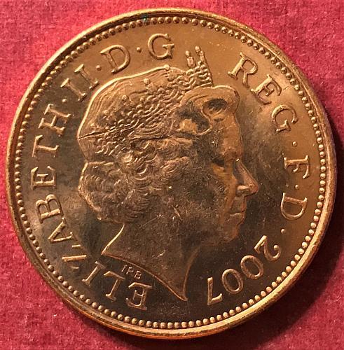 Great Britain - 2007 - 2 Pence
