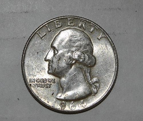 1964 P Washington Quarter G468