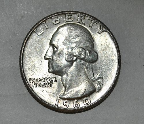 1960 P Washington Quarter G479