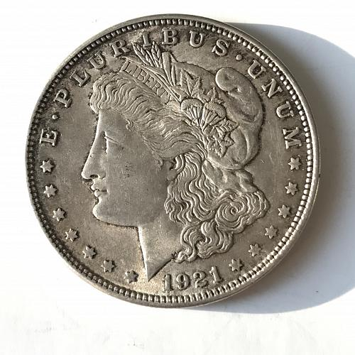 1921 Morgan Dollar (1013-2)