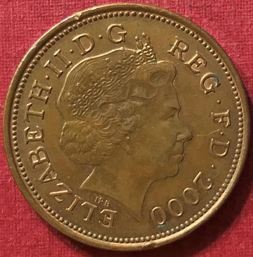 Great Britain - 2000 - 2 Pence