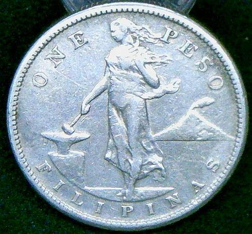 1903 one peso Filipinas US Minted    V1P11R3