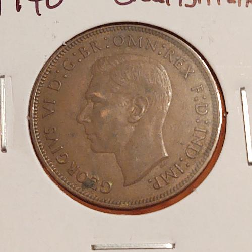 1940 Great Britain One Penny