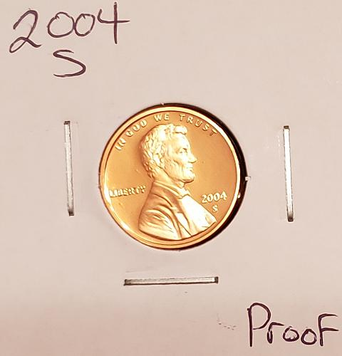 2004 S Lincoln Memorial Cent Small Cent