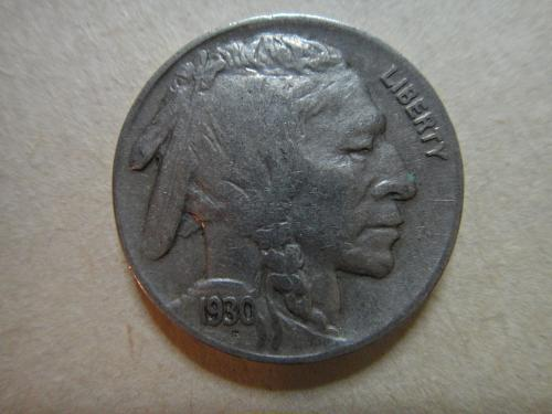1930 Buffalo Nickel Very Fine-30 Nice Medium Grey Full Horned Buffalo!