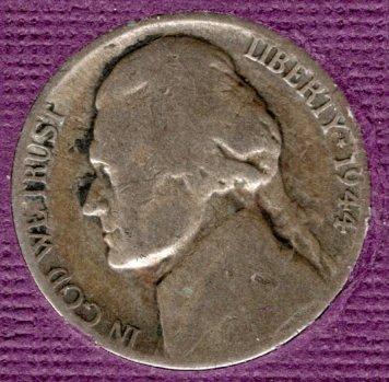 1944 P Jefferson Nickels -#2
