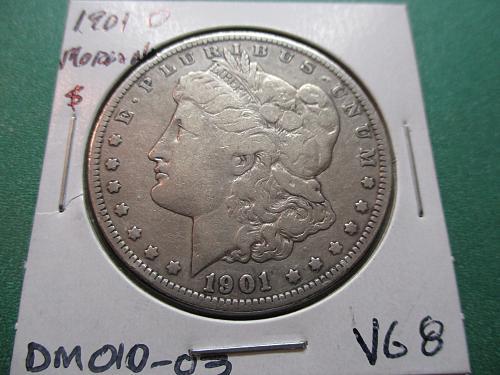 1901-O  VG8 Morgan Dollar.  Item: DM 01O-03.