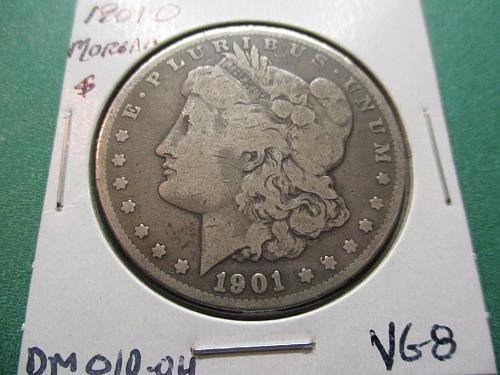 1901-O  VG8 Morgan Dollar.  Item: DM 01O-04.