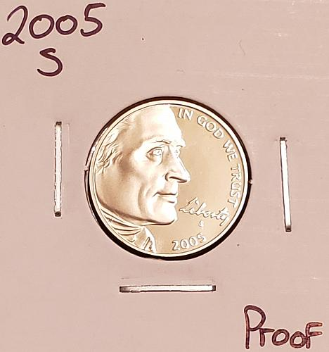 2005 S Jefferson Nickel : American Bison
