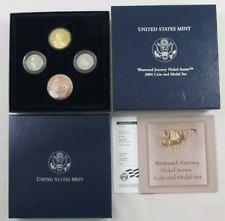 2004 Westward Journey Jefferson Nickel Coin and Medal Set