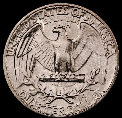 1944 Washington Quarter-Choice Gem Brilliant Uncirculated Luster.