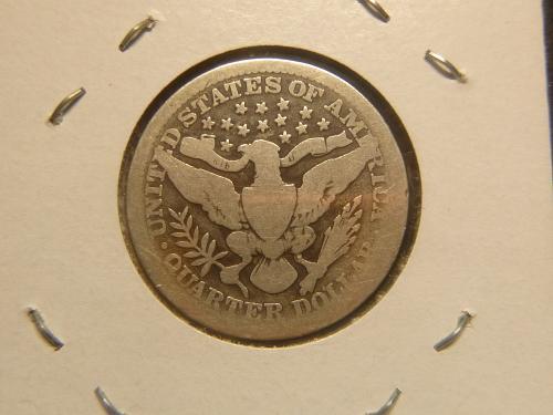 1908 P Barber Quarters