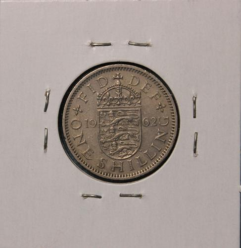 Great Britai 1962 shilling