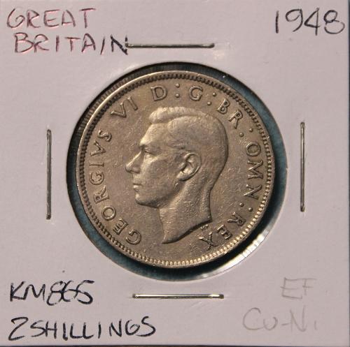 Great Britain 1948  2 shillings