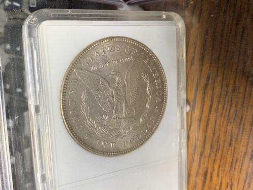 1878 morgan  MS 65