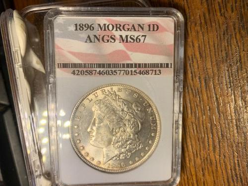 1896 ms67 morgan