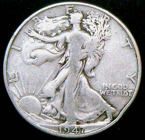 1947 Walking Liberty Half Dollars  Vol. 2 V2P1R3