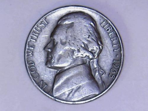 1965 P Jefferson Nickel    See Pictures